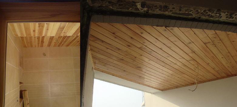 杉木板吊顶构造图