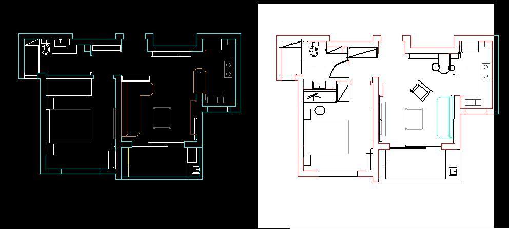 怎样画cad的建筑平面图-cad画建筑平面图步骤