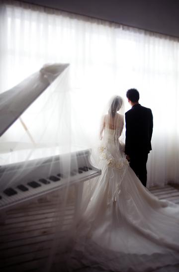 【唯一视觉】出品 感谢摄影师高亮+化妆师盈盈+两位助理,09年5月3日婚