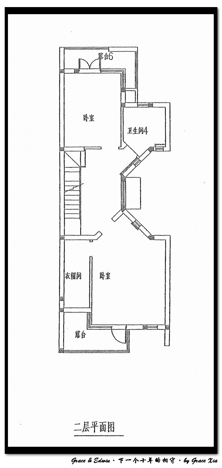 楼房室内接线图