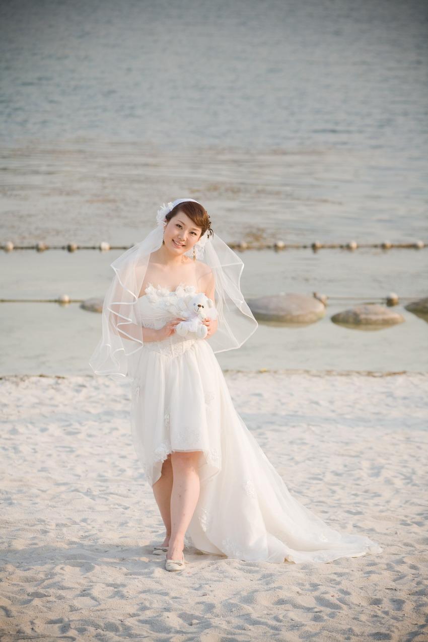 文字 喜欢大宁的白沙滩,有一点点海边的感觉, 上次去青岛看到很多对