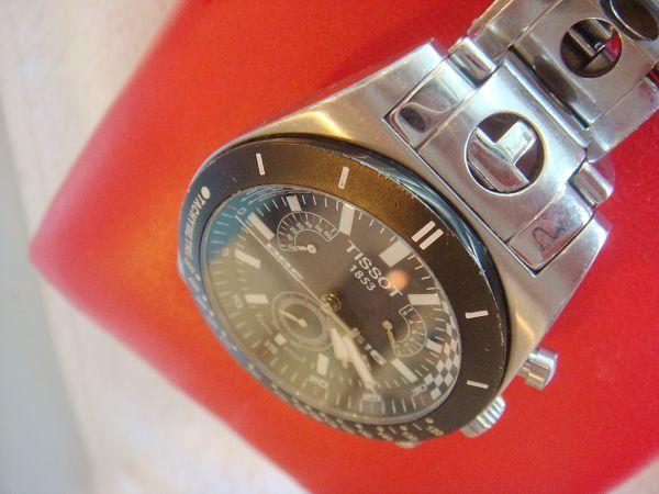 ◣帮朋友转让天梭手表1块◢ 8成新 中性の款哦 赞图片