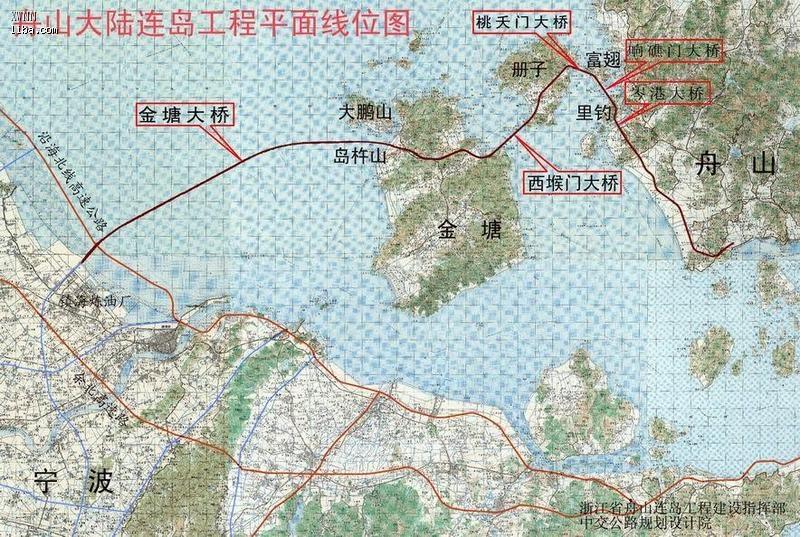 p1-p5上海到普陀山(过舟山跨海大桥)详细自驾线路&p5