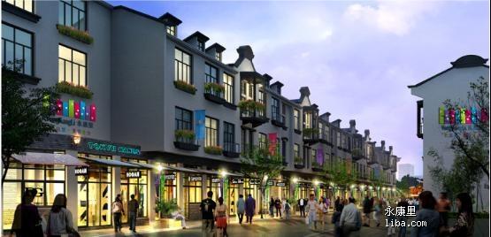 典雅的欧式风格建筑及时尚街区规划,北侧紧邻上海第一家apm商场(2011