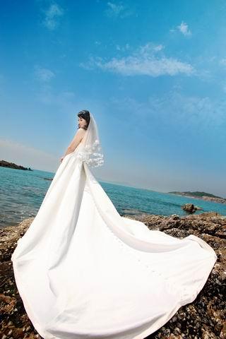 青岛北九水-海边完美婚纱照之旅