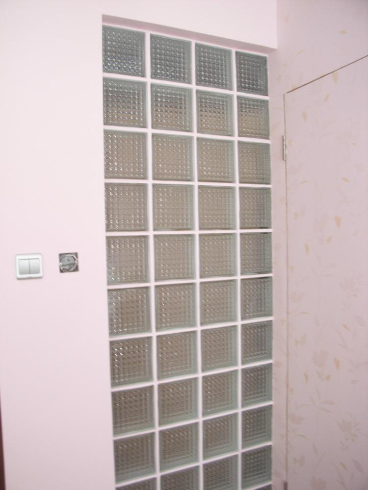 玻璃砖隔断效果图-保洁完毕,迫不及待上照片,自己设计,简约风格
