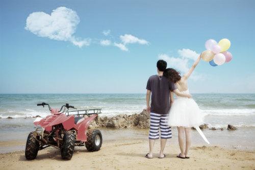 喝啤酒,吃海鲜,蜜月加婚纱照,我的完美青岛之旅,上原片了