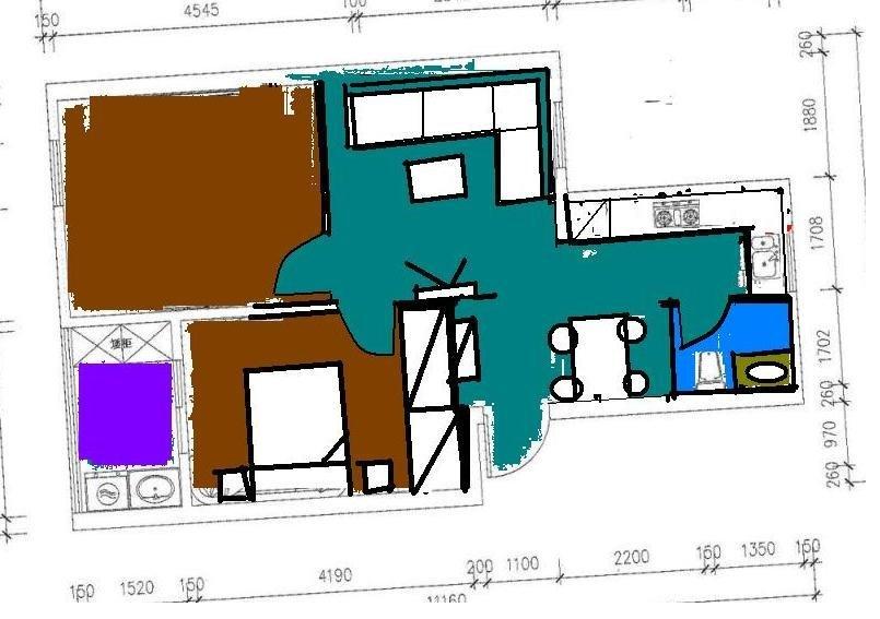 小房子装修,有两种设计方案,达人说说哪个好啊