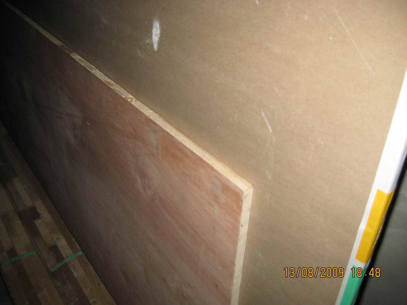 烤漆门制作效果一般.地板铺好了 巨量图片 装修日记 篱笆网