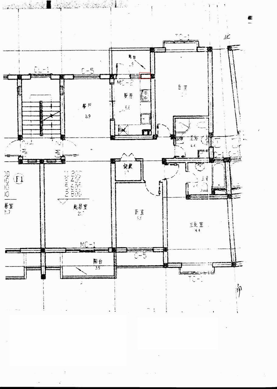 房型结构图谁能看懂? 装修讨论