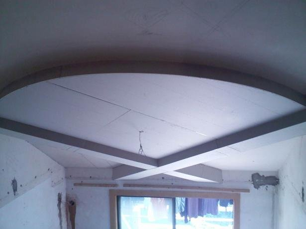 扇形吊顶装修效果图