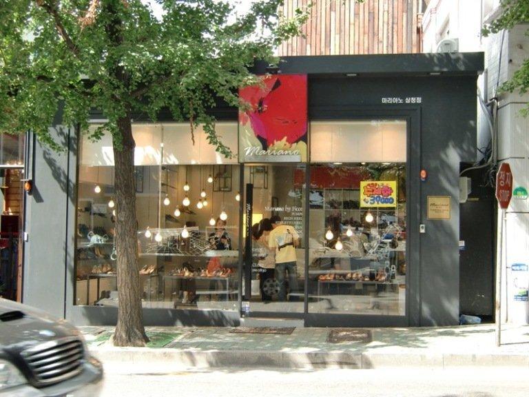 韩国装修风格小店图片