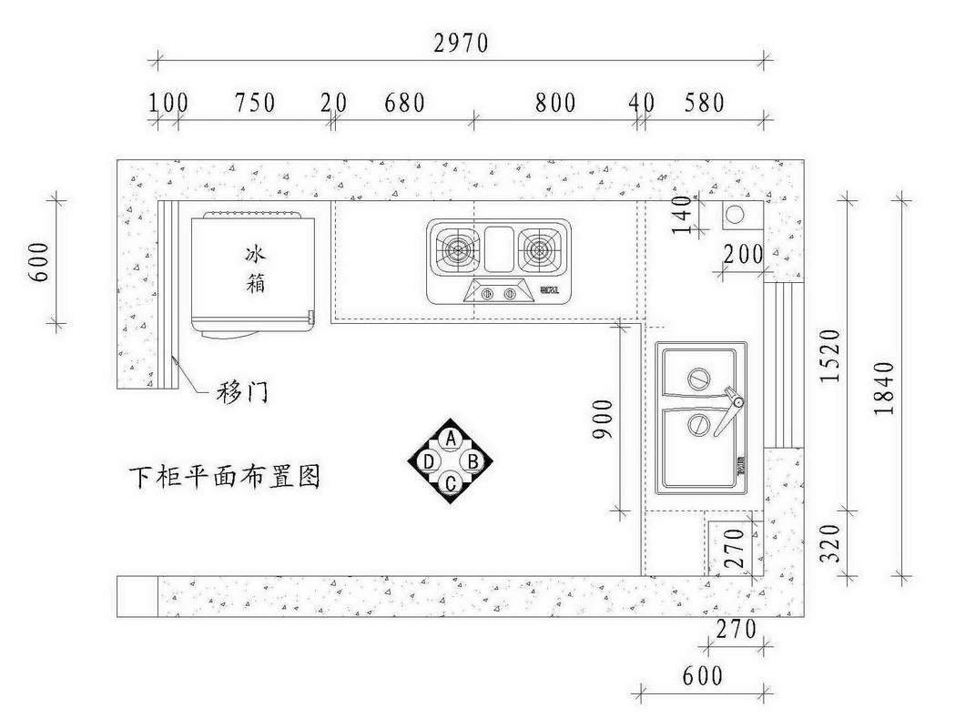宇邦橱柜设计图