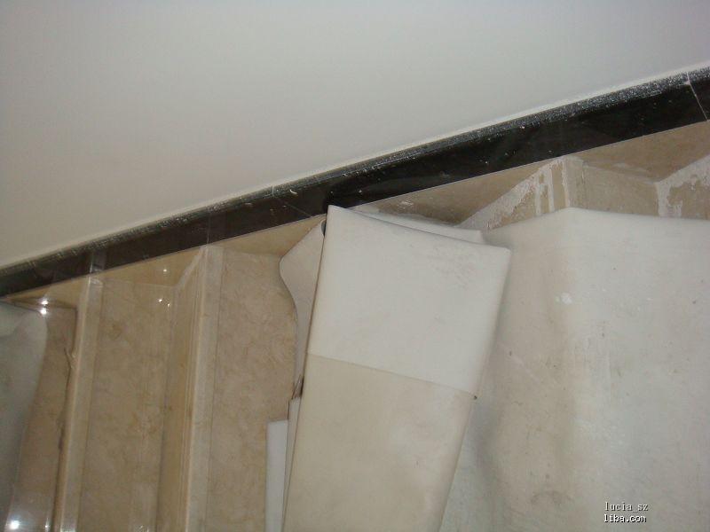 大理石台阶和踢脚线的处理