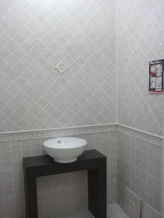 浴室间的墙砖和地砖,打算就这样铺