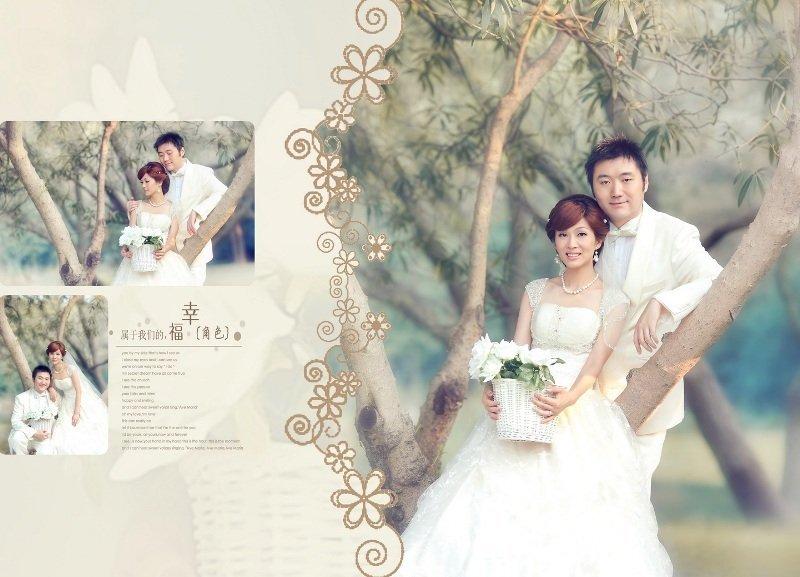 相爱相守--我们的婚纱照 新增排版设计 p28开始 新增全家福拍摄 p347图片