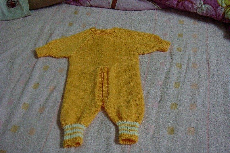 婴儿连体衣手编织图解内容|婴儿连体衣手编织图解版面设计