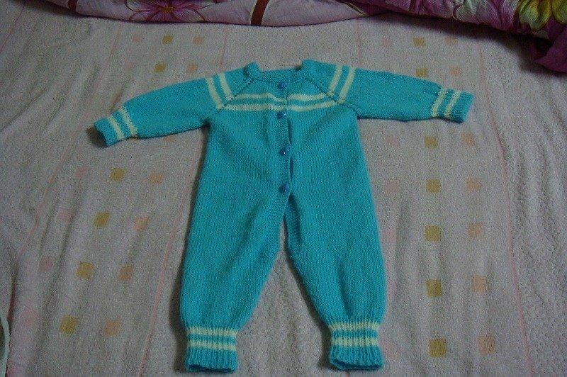 怎样编织宝宝连体衣-