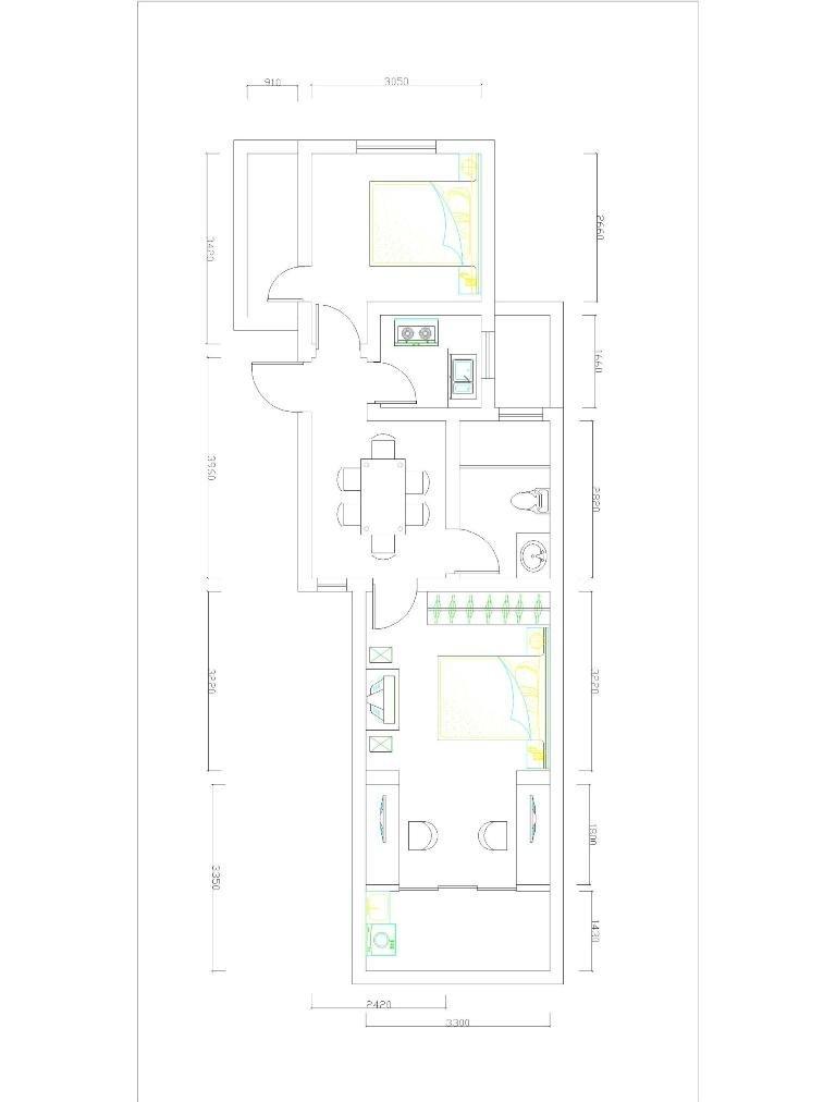 1012自建房设计图纸