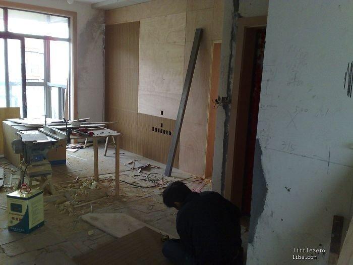 背景墙等木工活(二)