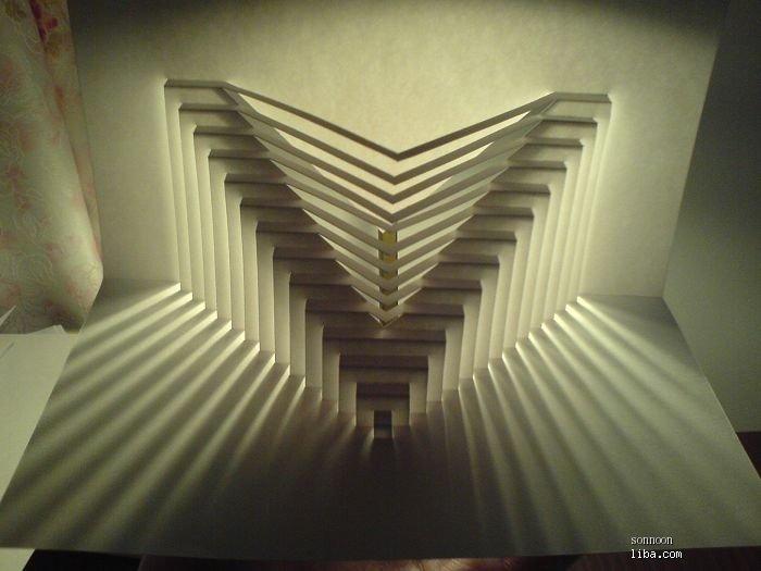 半立体构成折纸房子