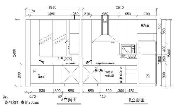 橱柜台下盆安装方法图解