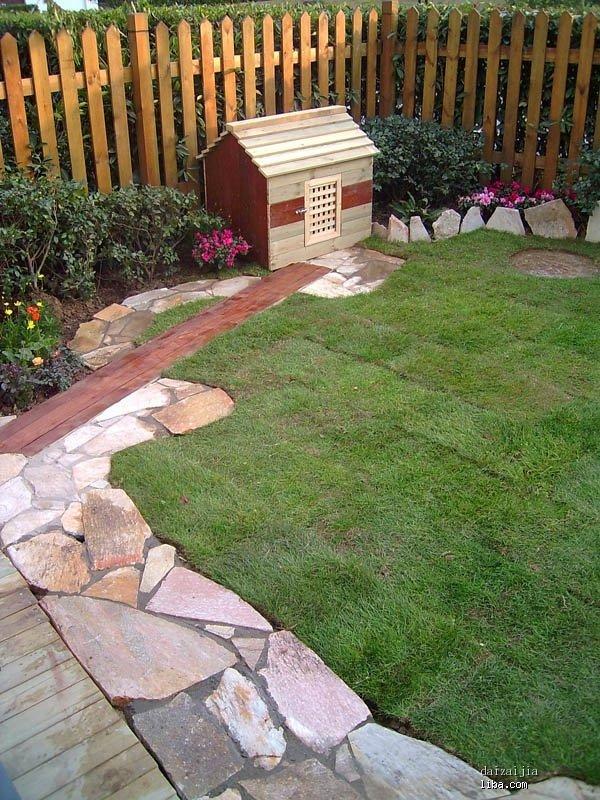 独家小院设计图 花园