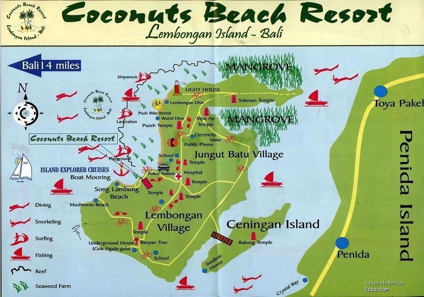 蓝梦岛的地图
