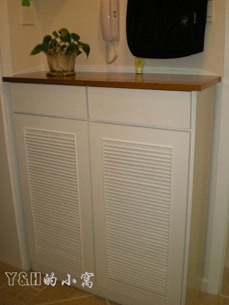 木工做客厅鞋柜图片