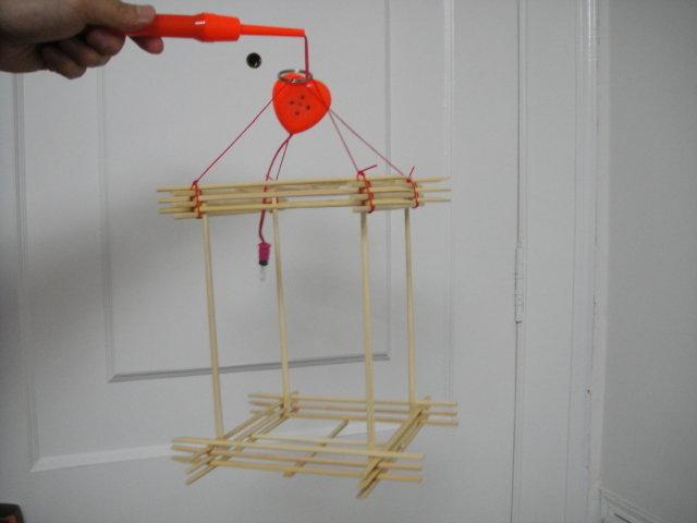 筷子创意手工几何灯笼