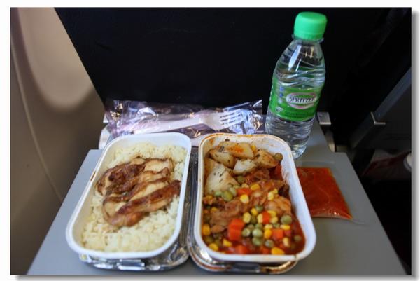 这个就是亚航的飞机餐