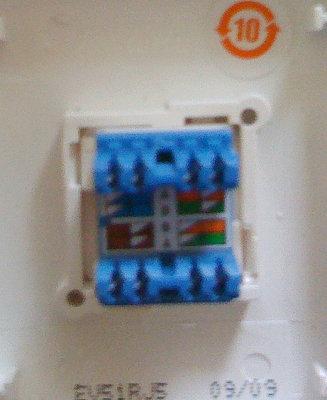 求:网线插座接法