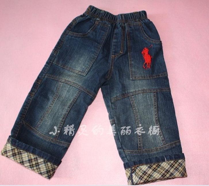 全棉水洗牛仔裤 儿童牛仔裤 polo男童牛仔裤 弹力牛仔裤