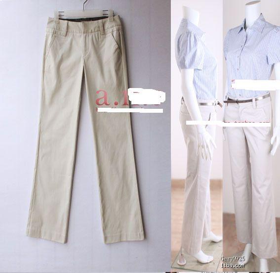 我想买条春天上班穿的裤子,你们说9分裤合适还是直筒裤合适啊