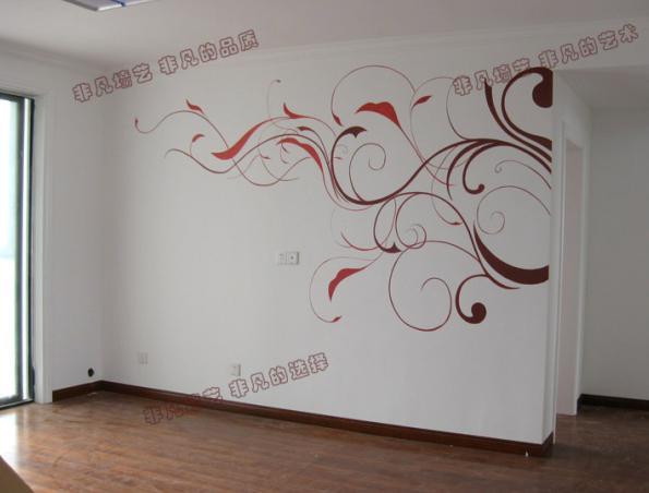 时尚墙体彩绘