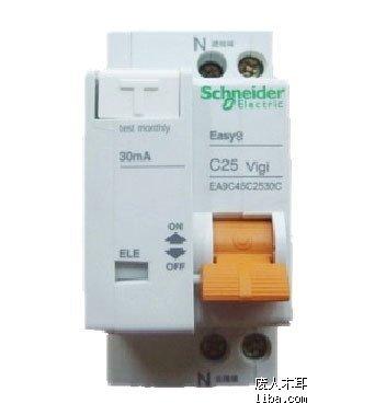 下图是1p断路器配漏电保护器
