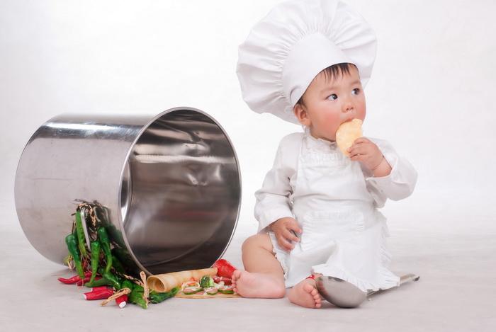 厨师小牛图片可爱