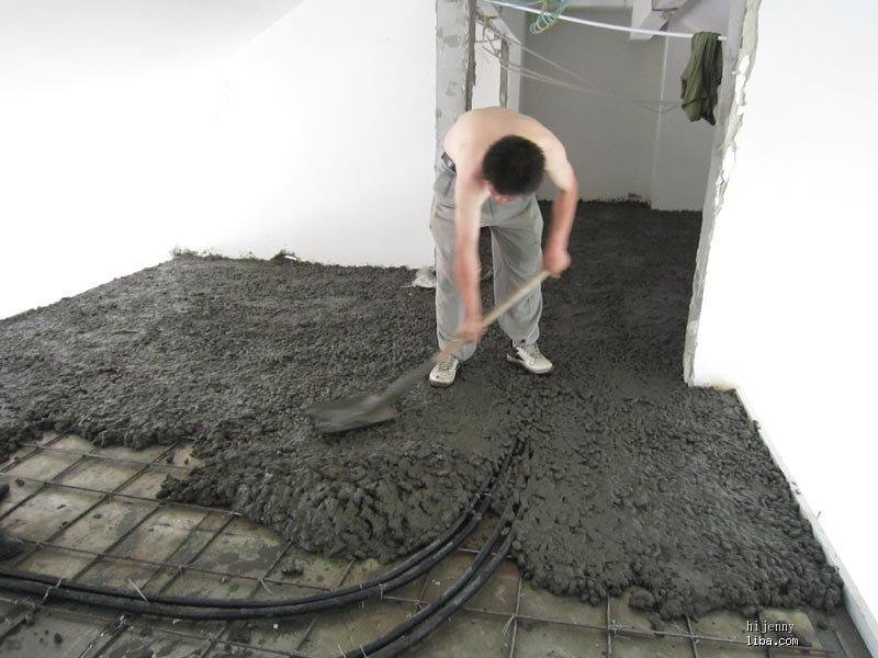 糊涂人稀里糊涂的装修日记 钢结构搭建水泥已浇,现补救中,