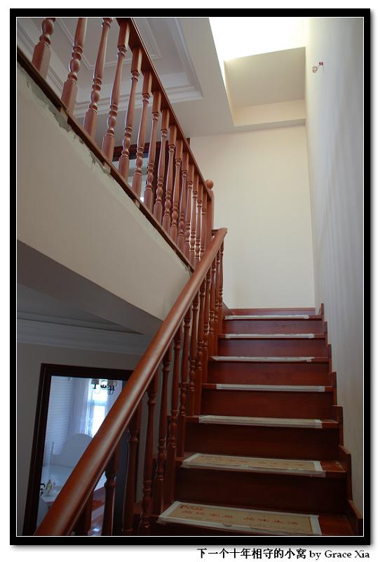 别墅装修:实木楼梯安装步骤全过程记录