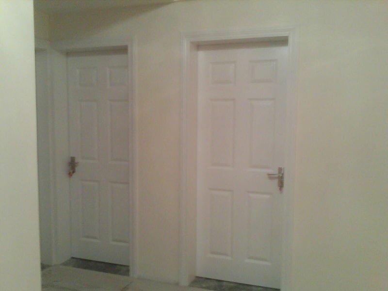 全城家的装修进程 漆工进行中,橱柜吊顶安装完毕 附图