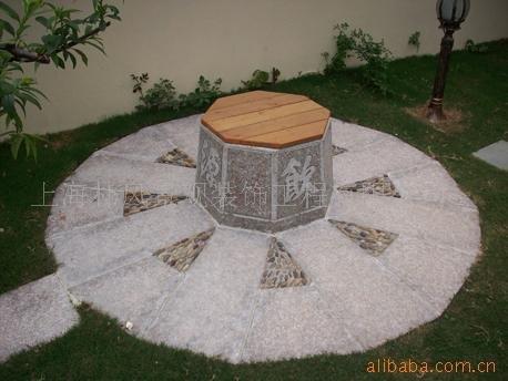 庭院设计【高差 水井 私密平台 塑木】 某欧式别墅庭院景观,图片尺寸