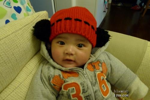 儿子长得像韩国小明星Mason P7成长照片 P8麻麻的恶搞