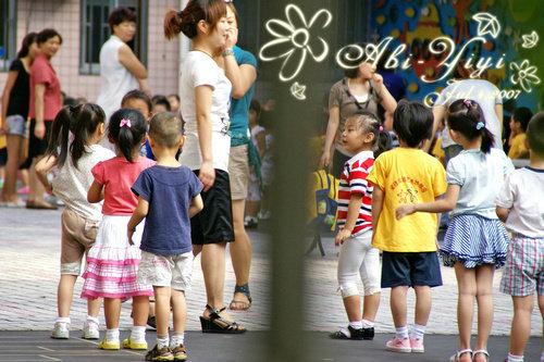 2010 爱德双语艺术幼稚园 █ 幼儿园晨练散片 小班手工作品