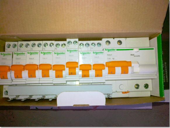 强电箱接线图 标准