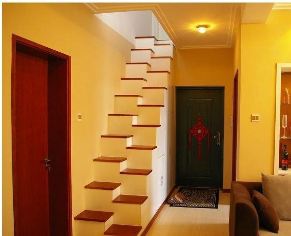 除非你书房不打算做为大用场,或是做小型特别一点的楼梯,否则占空间太