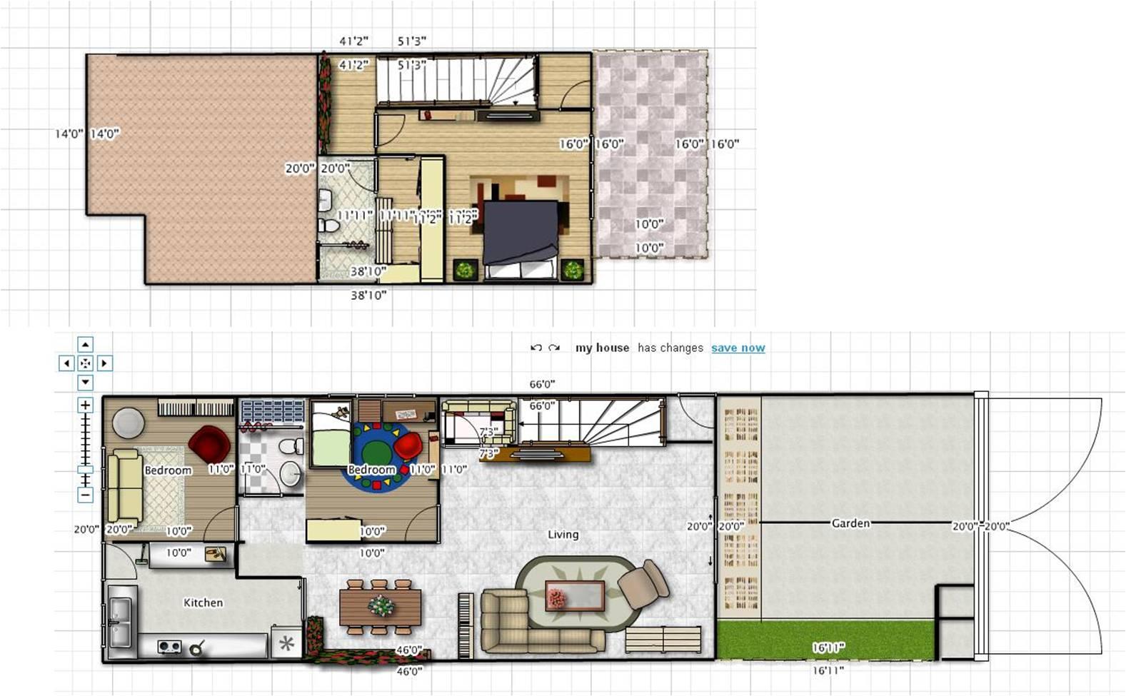 大家都能一起参与设计自己的房子