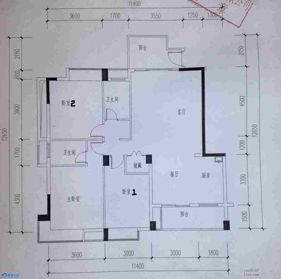 想装修房子,各位帮忙看看有什么好方案吗 上平面图