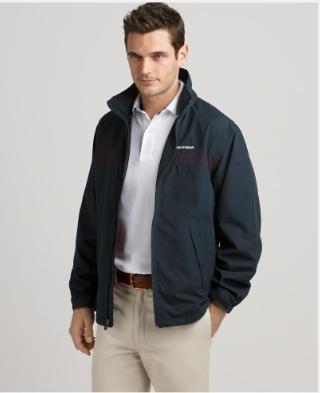tommy经典款 男士带内衬夹克/短风衣