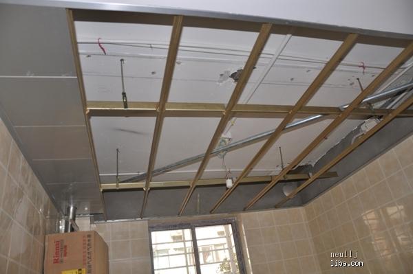 厨房吊顶安装中