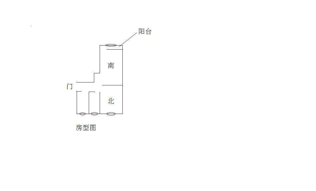 40平方小两室求设计,三代同住,简约即可,附房型图